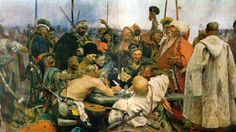 "InfoUkes: Ukrainian History -- The Cossack Letter: ""The Most Defiant Letter!"""