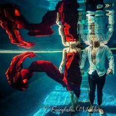 21 Unique Ideas For A Beautiful Underwater Shoot | ShaadiWish.com Pre Wedding Shoot Ideas, Pre Wedding Photoshoot, Photoshoot Ideas, Couple Posing, Couple Portraits, Couple Shoot, Candid Photography, Bridal Photography, Underwater Photoshoot