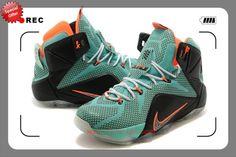 Cheap price Mens Nike LeBron 12 Elite  Black / Grey Basketball s
