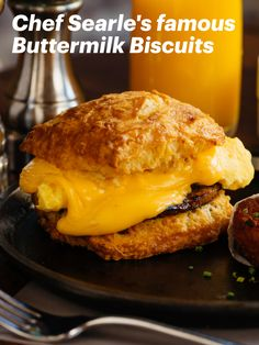 Impress with these tasty, comforting biscuits Buttermilk Biscuits, Hamburger, Tasty, Bread, Ethnic Recipes, Food, Shortbread Cookies, Brot, Essen