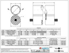 www.canadianpond.ca - Technical drawing of our Bubble Tubing Diffuser