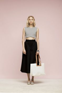 Dissecting the Awesomeness of Kate Spade Saturday's Pre-Fall 2014 Collection Kate Spade Saturday, Must Have Items, Must Haves, Fashion News, Midi Skirt, My Style, Stylish, Fall, Hustle