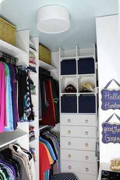 Etonnant 10 Tips To A Better Closet | Pinterest | Master Closet, Small Closets And  Organizing