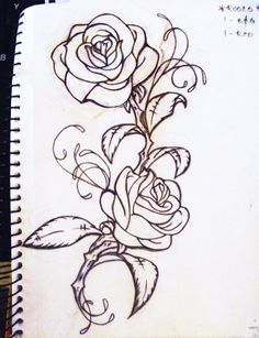 roses. cliche, i know, but i really like these ones- think like, beauty and the beast cartoonish but still symbolic and beautiful :D