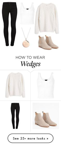 """Kat Taking The Trash Out"" by marsophie on Polyvore featuring Kate Spade, J Brand and MANGO"