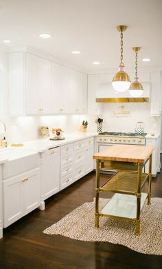 This kitchen infuses happiness and energy in a bright and cheery way!