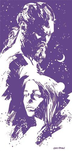 Khal Drogo & Daenerys Targaryen - Garry Brown