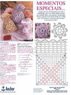 Cute crochet bag, purse, pouch
