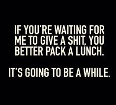 I love THIS...pack a big lunch