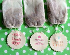 DIY tea bags quotes