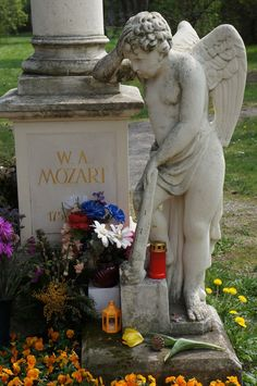 Grave of Wolfgang Amadeus Mozart, Cemetery St. Marx Vienna