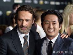 Celebrities Attend The Premiere Of AMC's 'The Walking Dead' 4th Season