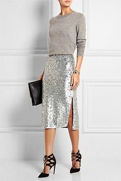Image result for white and blue SEQUIN SKIRT