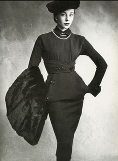 Bettina, 1950  Photo by Irving Penn for Vogue