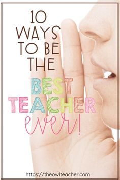 Looking to go into next school year being the best teacher ever? This post is chock full of 10 practical, helpful tips to help you become the best teacher you can be! Primary School Teacher, First Year Teachers, Primary Teaching, Elementary Teacher, School Classroom, Teaching Kindergarten, Student Teaching, Secondary School, Upper Elementary