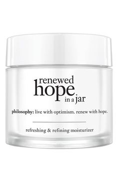 philosophy 'renewed hope in a jar' for all skin types available at #Nordstrom