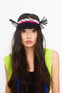 #fashion #neonkids #yellow #headband #ivaksenevich #asian