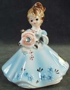 Vintage Josef Originals - Birthstone Girl -  April, Diamond
