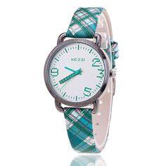 KEZZI K-1027 Brand Leather Strap Watch Women Dress Watches Relogio Waterproof Ladies Watch Gift Clock Quartz Watch reloj