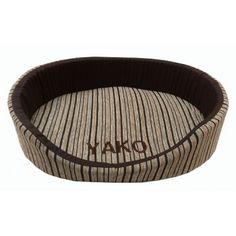 Cama Cuna (S - M - L) personalizada en marrón.