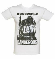 Men's #Transformers Are Dangerous Age Of Extinction Movie T-Shirt from TruffleShuffle xoxo