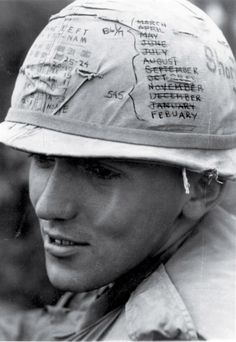 Helmet Graffiti - Vietnam war