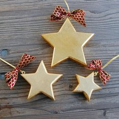 Full Star Handmade Wooden Decoration.  All products in Golden Edition are made of high quality Mountain Maple Wood. Radiant hand Gilded decorations are complemented with clear crystals and stunning ribbons in red and gold shades. The whole process is Hand made, including magical branded gift wrapping from Choralis Art.  #goldstar#goldenstar#walldecor# Wooden Stars, Star Wall, Wooden Decor, Gold Stars, Handmade Wooden, Luxury Gifts, Clear Crystal, Wood Art, Ribbons