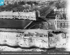 Westcliff Hall and Royal Crescent 1931
