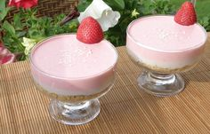 Food & Drink collection of recipes that are submitted Find recipes from your favourite food Cooking, restaurants, recipes, food network Banana Mousse, Strawberry Banana, Panna Cotta, Good Food, Cooking Recipes, Pudding, Ethnic Recipes, Desserts, Tailgate Desserts