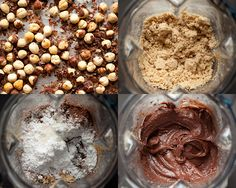 With a food processor, hommade nutella could not be any easier. Spice Blends, Graham Crackers, Freezer Meals, Nutella, New Recipes, Cravings, Ice Cream, Treats, Homemade