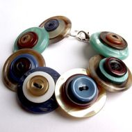 Realicoul Quirky Handmade Button Jewellery - Folksy