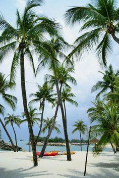 Siloso beach Singapur