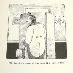 Voices of Two Men DR DOLITTLE  illustration Man by MoreLooseEnds