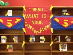 Superhero theme...