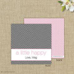 A little happy. Gift Card #alittlehappy Brown Paper Studios brownpaperstudios.com