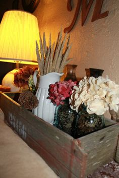 Fall and Thanksgiving decorating ideas