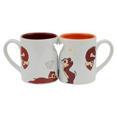 Chip and Dale Moving Mug Cups  From Japan's Disney Store