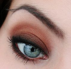 Bronze Goddess by Silje Beate on Makeup Geek Awesome website of eye shadow ideas and tutorials
