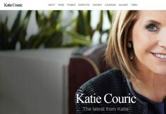 Doubtful about WordPress security and credibility? Check out the list of famous websites using WordPress and highly recognized. Famous Websites, Katie Couric, Wordpress