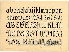 Zanerian Alphabets
