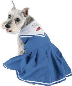 Cheerleading Dog Halloween Costume (Size: Large) « Pet Advertisings