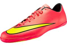 new concept 832d2 620e9 Nike Kids Mercurial Victory V Indoor Soccer Shoes - Hyper Punch Soccer  Gear, Kids Soccer
