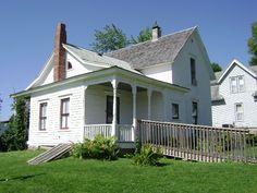 north-east corner of Villisca Iowa Ax Murder House