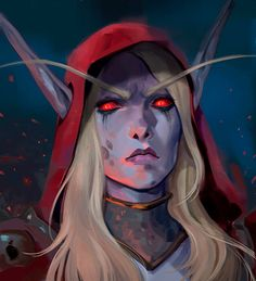 World Of Warcraft, Warcraft Art, Sylvanas Windrunner, Dungeons And Dragons Art, Night Elf, Heroes Of The Storm, Guild Wars, Wow Art, Pretty Art