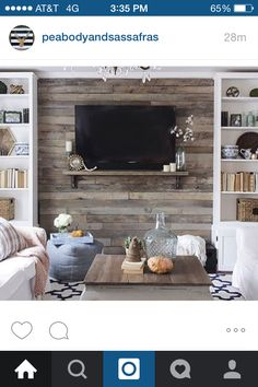 How To Build A Pallet Accent Wall In An Afternoon Includes Tips On Safe Pallets Use And Building Wire Pathways For Mounting TV