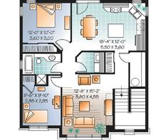 - 21711DR floor plan - 2nd Floor