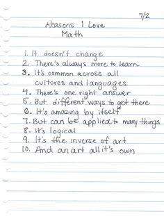 For my sister...the math teacher