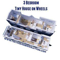 3 Bedroom Tiny House on Wheels