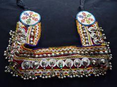 Vintage Kuchi Studded Coin Belt Gypsy Tribal Belly Dance. $34.50, via Etsy.