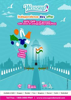 #0074 Independence Day Offer poster1